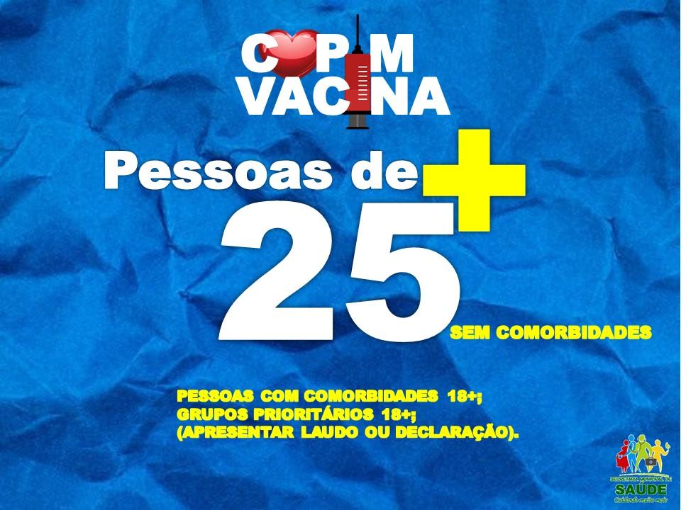 PESSOAS DE 25+