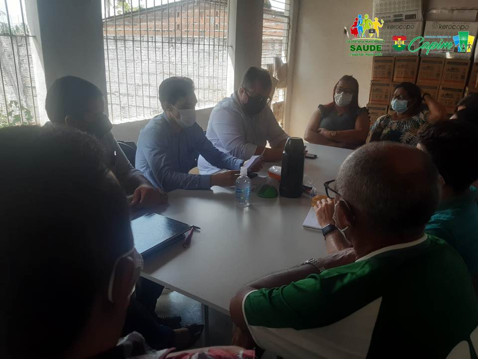 CONSELHO MUNICIPAL DE SAÚDE REALIZA  MAIS UMA REUNIÃO ORDINÁRIA