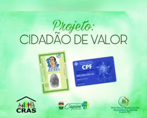 SECRETARIA DE ASSISTÊNCIA SOCIAL SEGUE COM AÇÃO DE EMISSÃO DE DOCUMENTOS